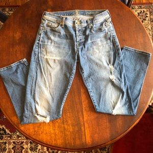 7 for all mankind Josefine distress Jeans